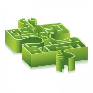 Puzzle-Labyrinth